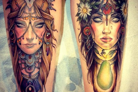 70+ Famous Portrait Tattoos Designs & Meanings – Realism of 2019