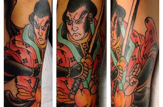 35 Strong Japanese Samurai Tattoo – Designs & Meanings