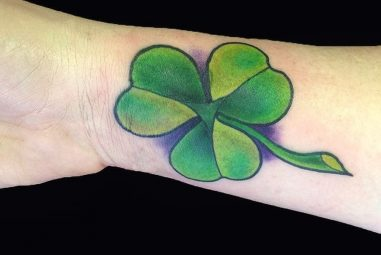 55 Colorful Shamrock Tattoo Designs – Traditional Symbol of Luck