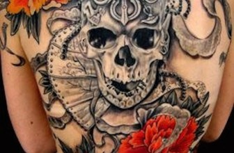 85 Best Sugar Skull Tattoo Designs , Menings For Men and Women