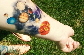 65+ Facinating Solar System Tattoo Designs – Their Main Origin And Symbolism