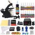 Solong Tattoo® Complete Starter Tattoo Kit 1 Pro Machine Guns 14 Inks...