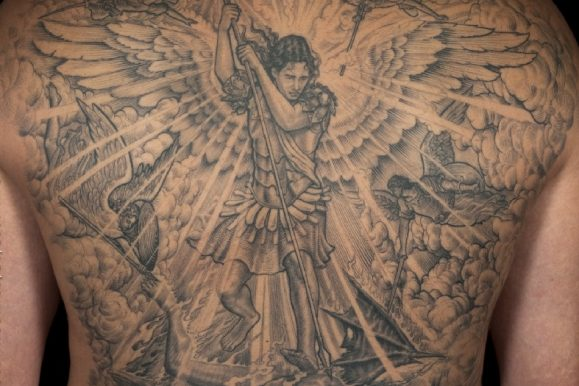 95+ Saint Michael Tattoos Designs & Meanings – Protect Yourself (2019)