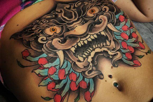 75+ Gorgeous Stomach Tattoos For Men & Women