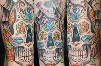 125+ Best Sugar Skull Tattoo – Designs & Meaning (2019)