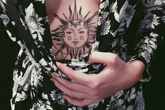 95+ Superb Sun Tattoo Designs & Meaning – Bright Symbol of The Universe