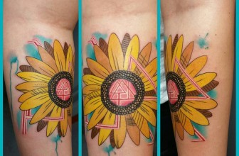 80+ Bright Sunflower Tattoos – Meanings and Designs for Happy life