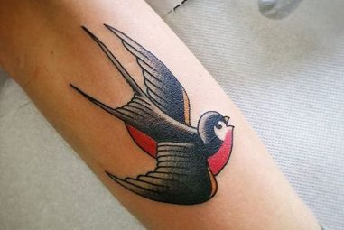 80+ Lucky Swallow Bird Tattoo Meaning and Designs – Fly in The Sky (2018)