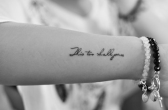 40 Modern This Too Shall Pass Tattoo Ideas & Meaning — Pure Elegance