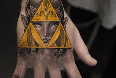 65 Mighty Triforce Tattoo Designs & Meaning – Discover The Golden Power