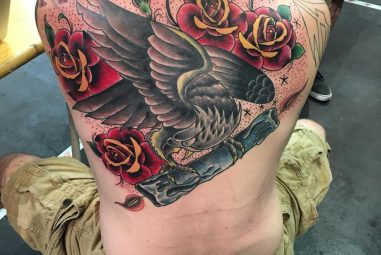 60+ Colorful Upper Back Tattoos – Most Common Types