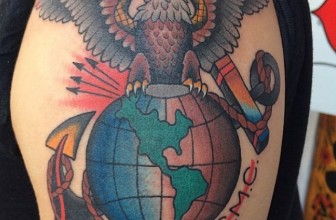 75 Cool USMC Tattoos – Meaning, Policy and Designs