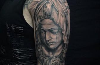 75+ Spiritual Virgin Mary Tattoo – Designs & Meanings (2020)