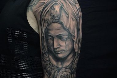 75+ Spiritual Virgin Mary Tattoo – Designs & Meanings (2017)