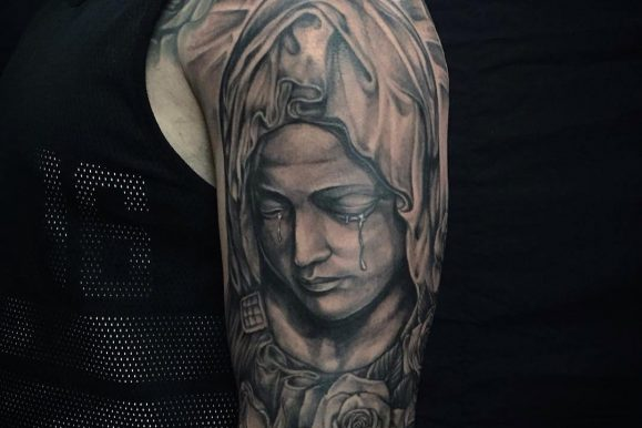 55 Spiritual Virgin Mary Tattoo – Designs & Meanings