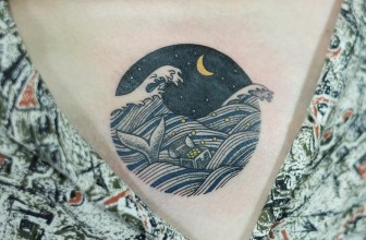 90+ Remarkable Wave Tattoo Designs – The Best Depiction of the Ocean