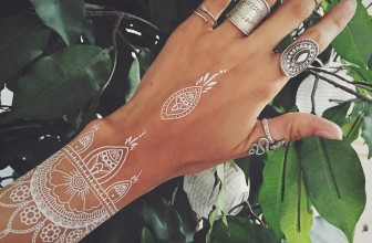 95+ Unique and Elegant White Tattoo Designs & Meanings – Best Ideas of 2018