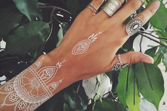 95+ Unique and Elegant White Tattoo Designs & Meanings – Best Ideas of 2019